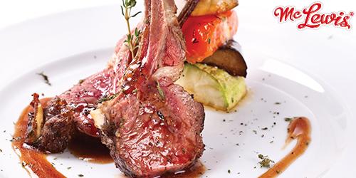 barbeque lamb chop
