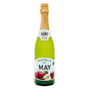 Jus May Sparkling Juice – Apple 750 ml