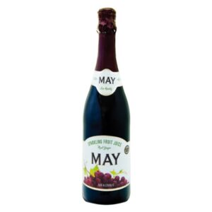 Jus May Sparkling Juice – Red Grape 750 ml