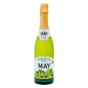 Jus May Sparkling Juice – White Grape 750 ml